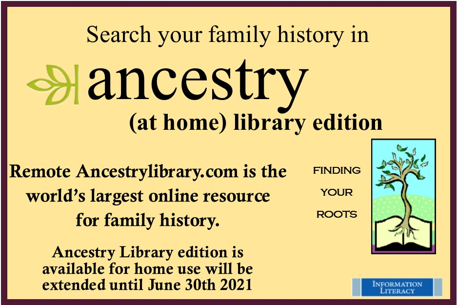 Ancestry At Home 2020