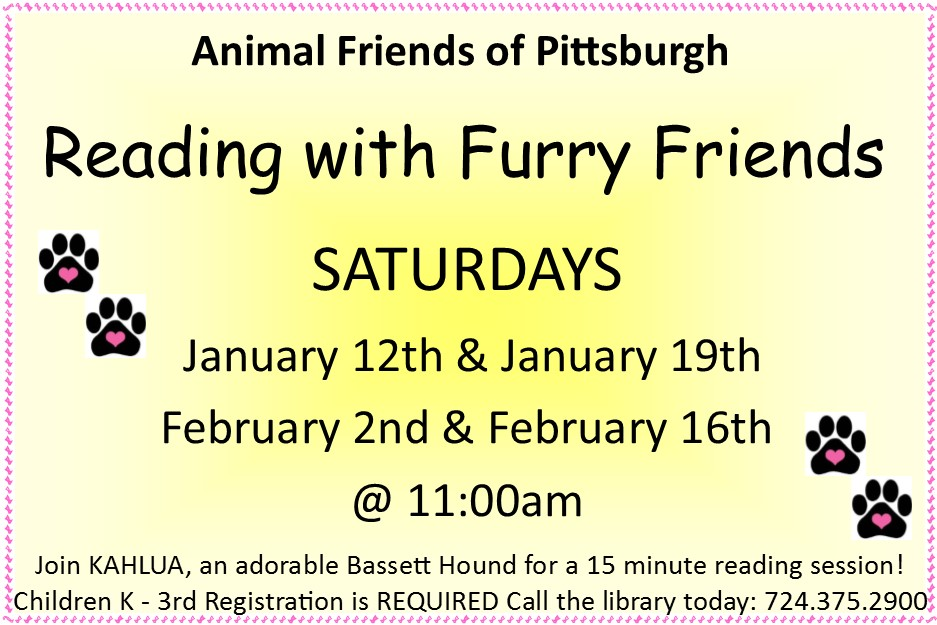 Reading to Furry Friends 2019