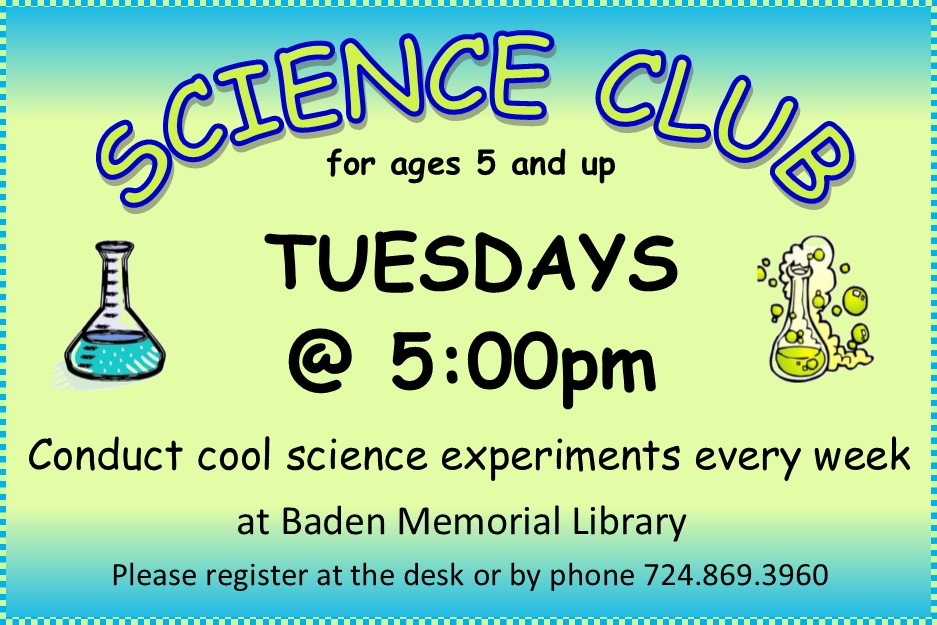 Science Club 2017
