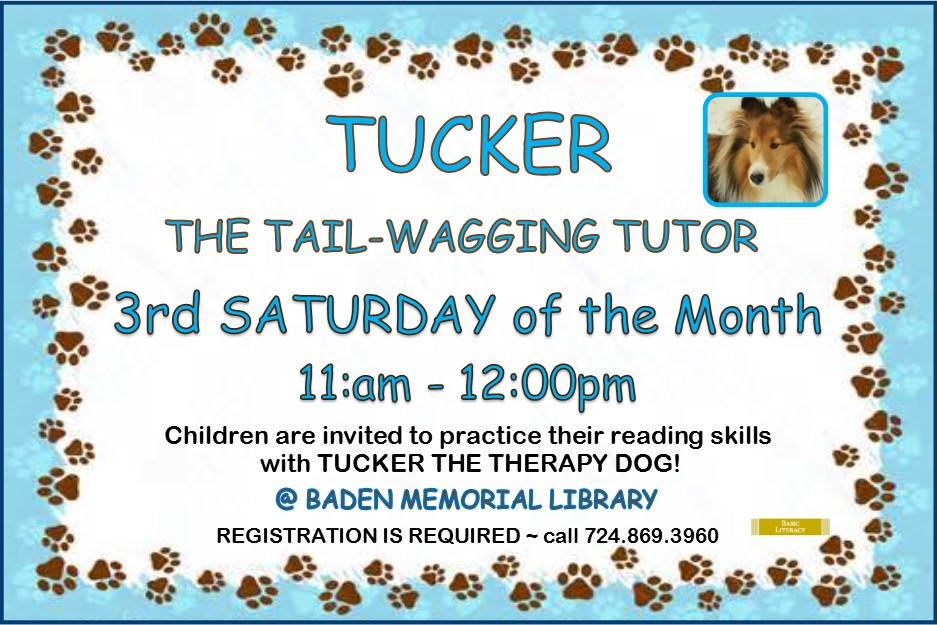 Tail Wagging Tutor Tucker 2017