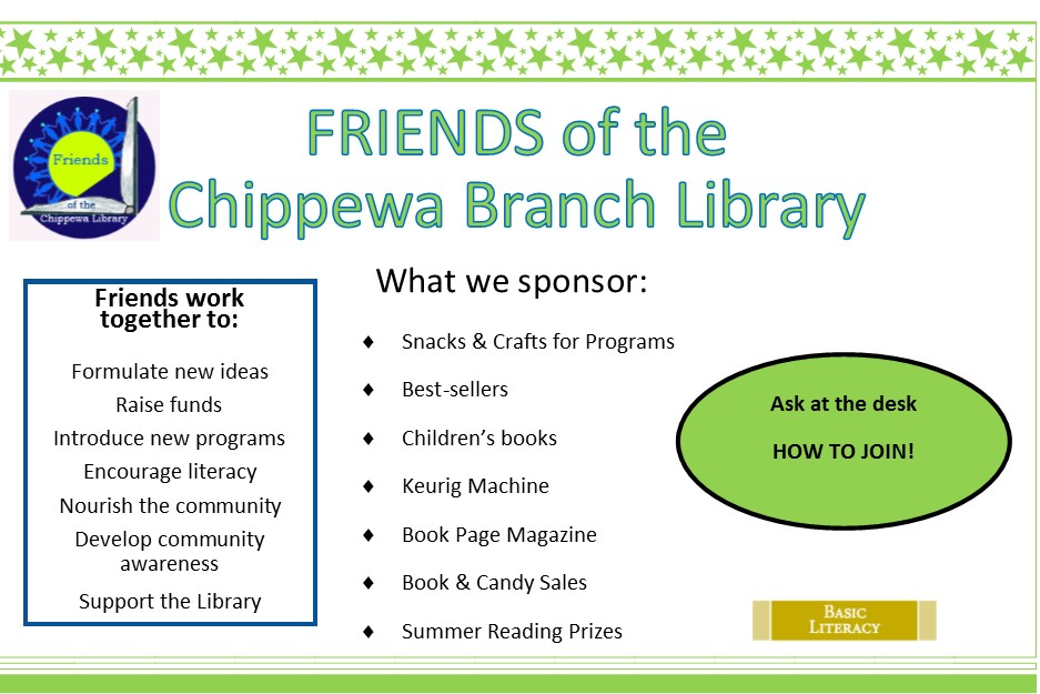 Chippewa Firends of the Library