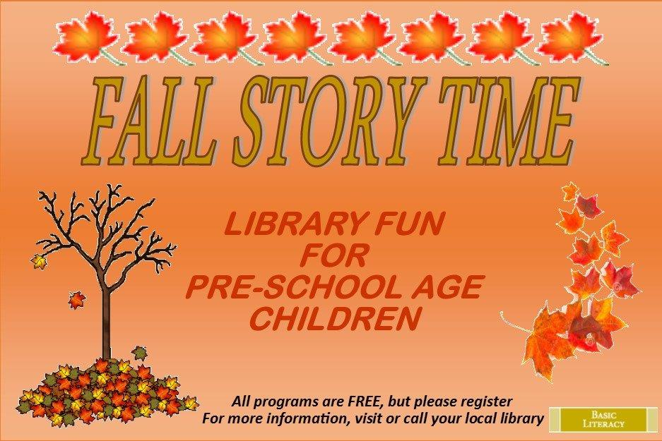 Fall Story Time 2014