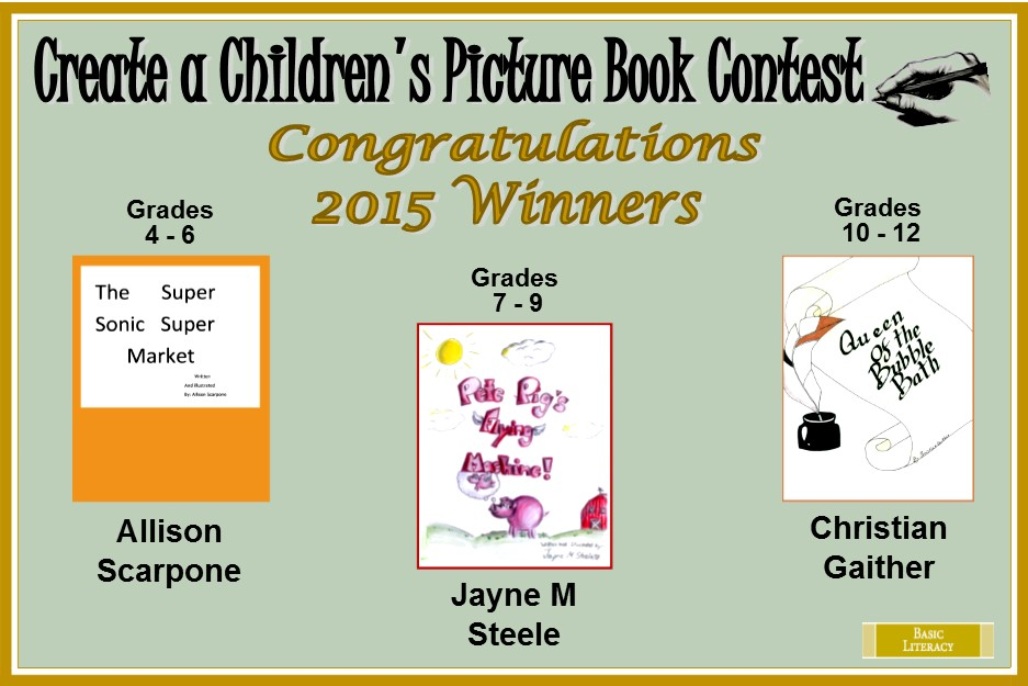 2015 Children's Picture Book Winners