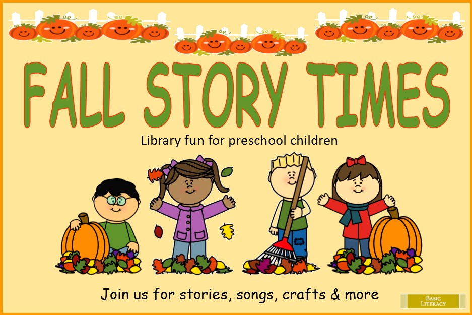 2016 - Fall Story Time