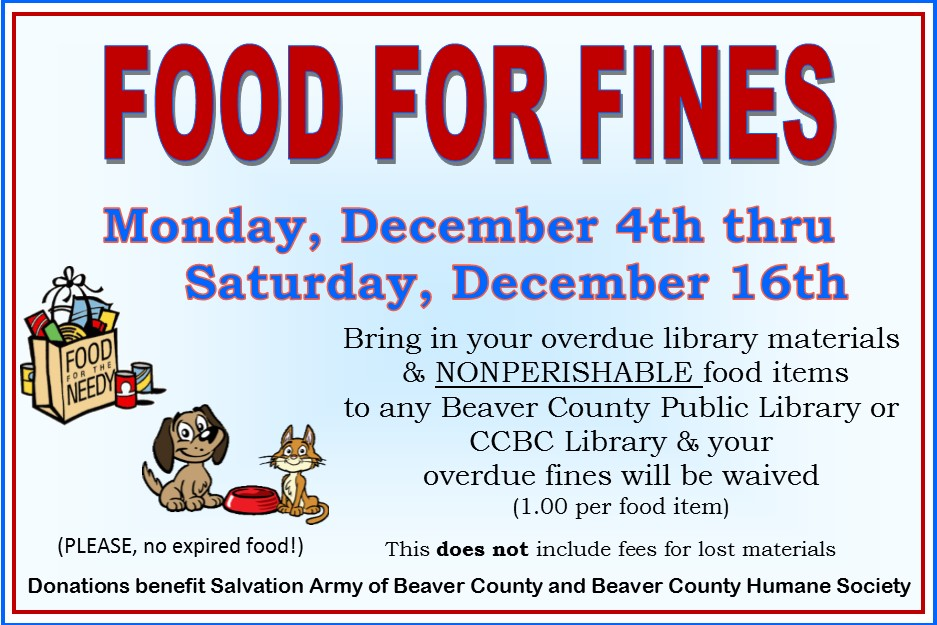 Food For Fines 2017