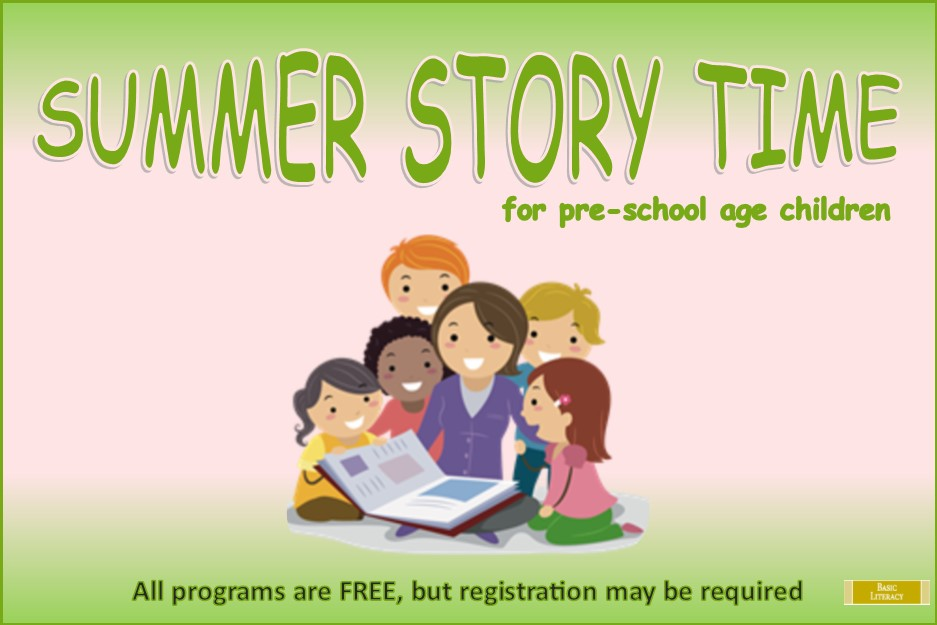 2017 Summer Story Times