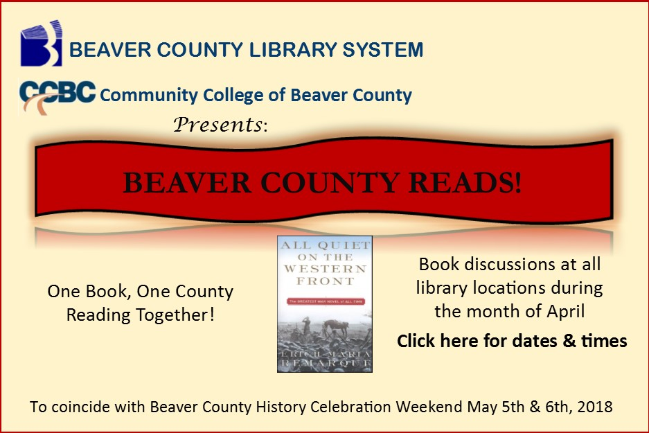 Beaver County Reads 2018