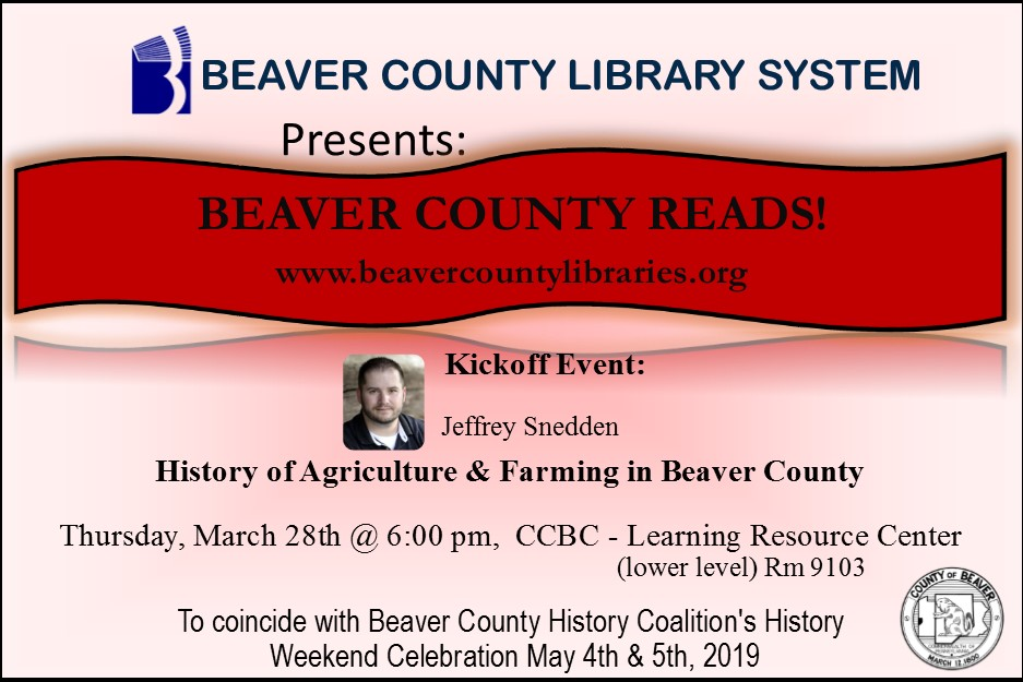 Beaver County Reads Kickoff 2019