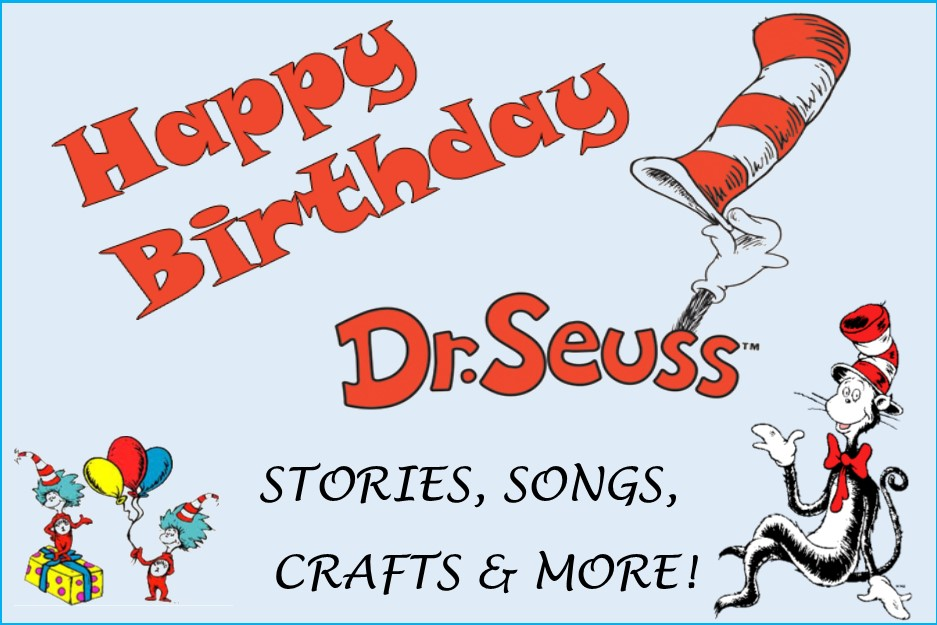 Dr Seuss's Birthday 2019