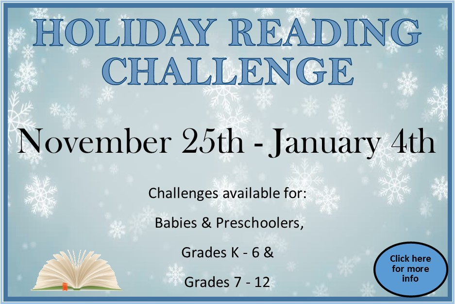 Holiday Reading Challenge 2020