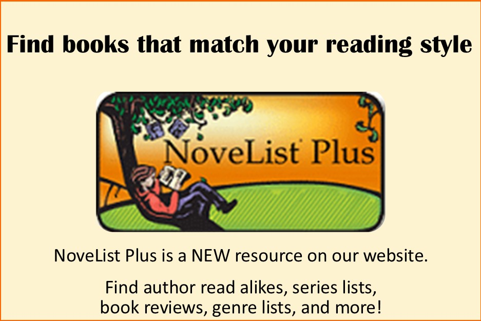 Novelist Plus Reader Advisory