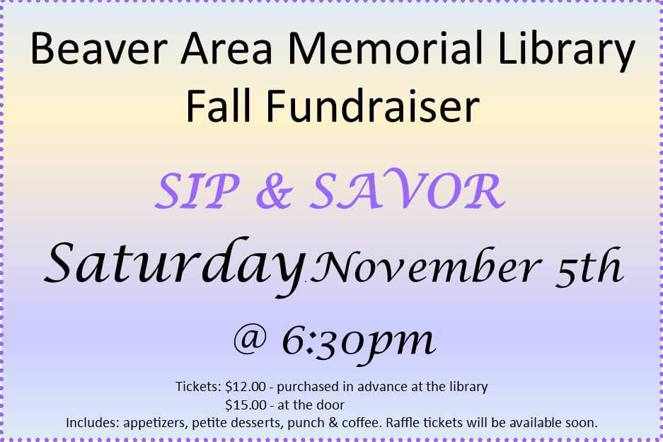 2016 - Sip and Savor