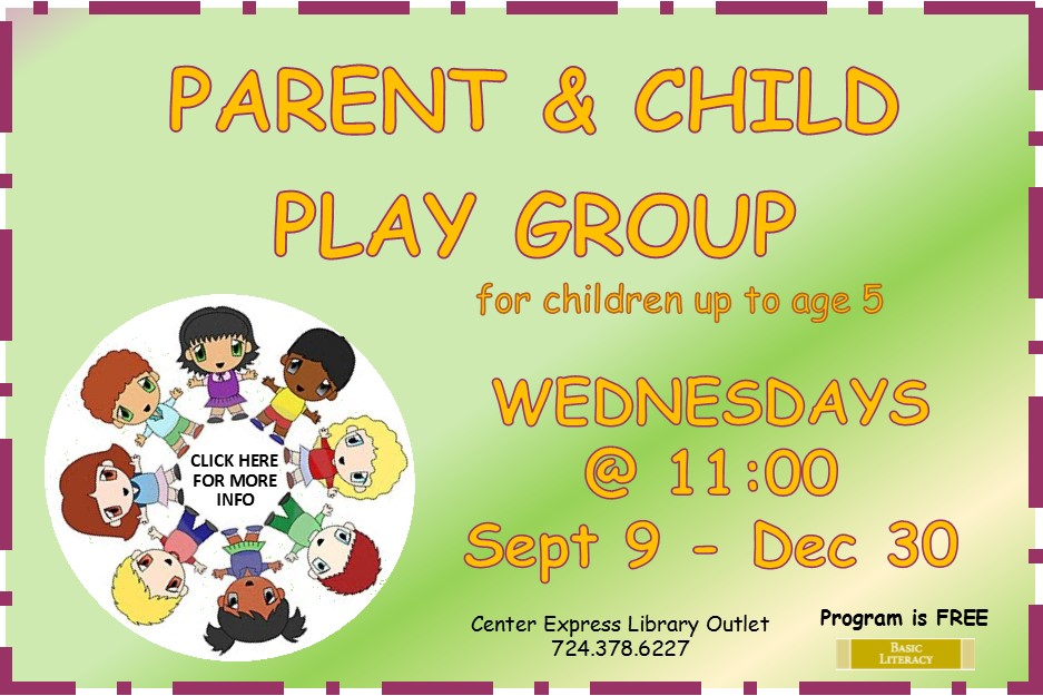 Parent & Child Play Group - Wednesdays