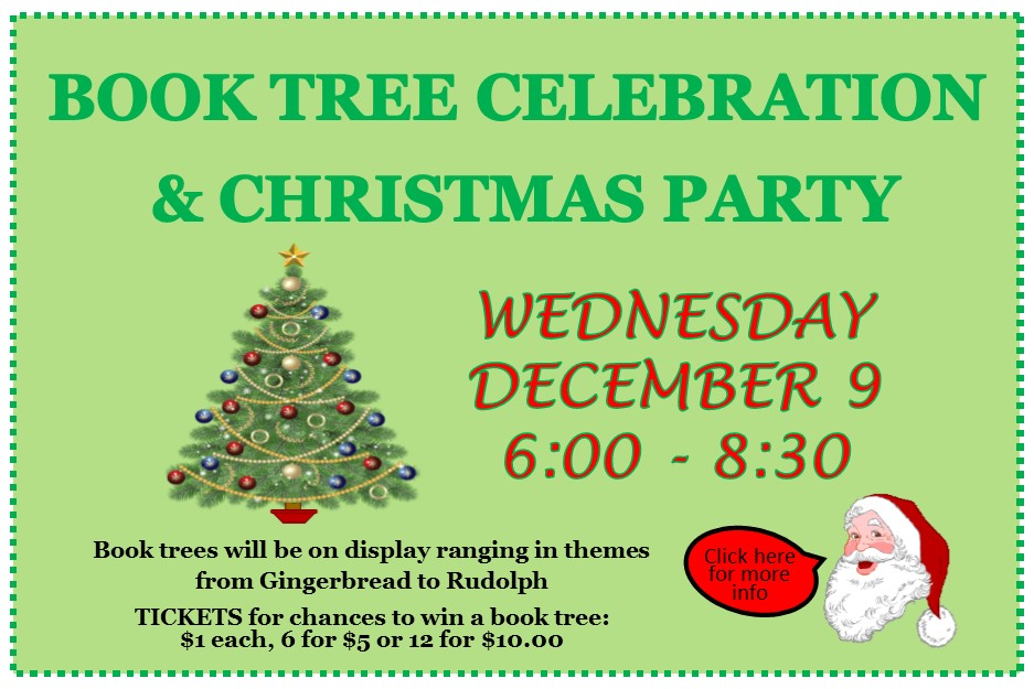 Book Tree Celebration And Christmas party