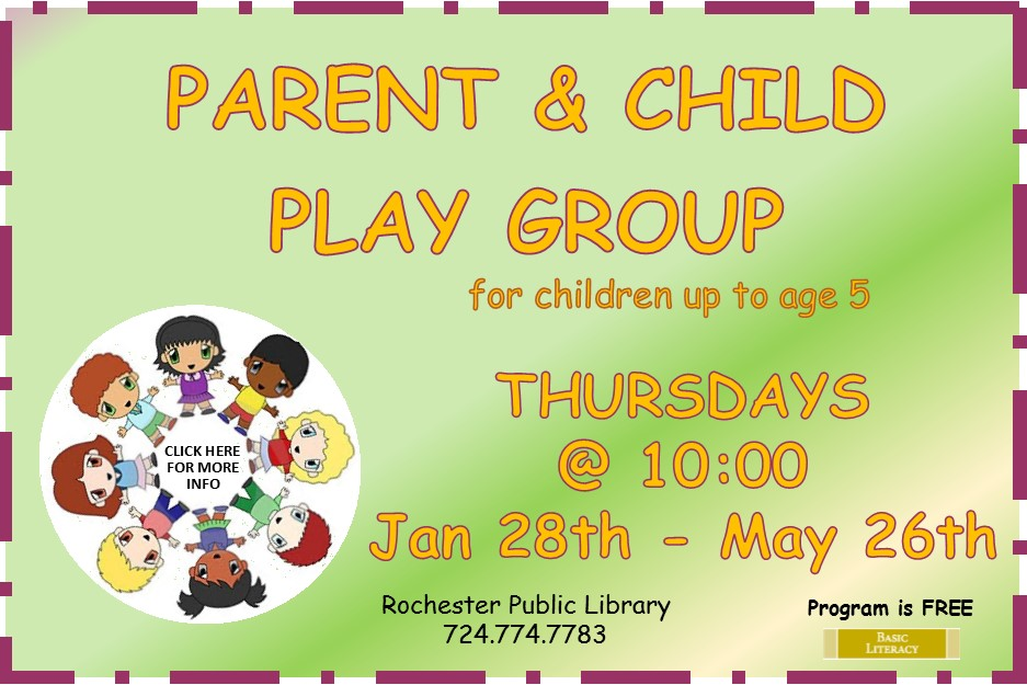 2016 Parent and Child Play Group