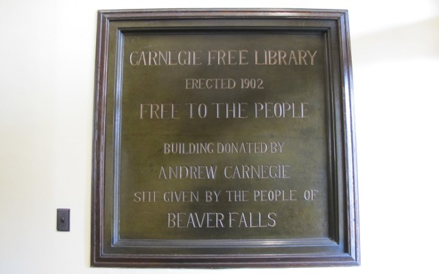 Carnegie Free Library, Beaver Falls, Beaver County Library